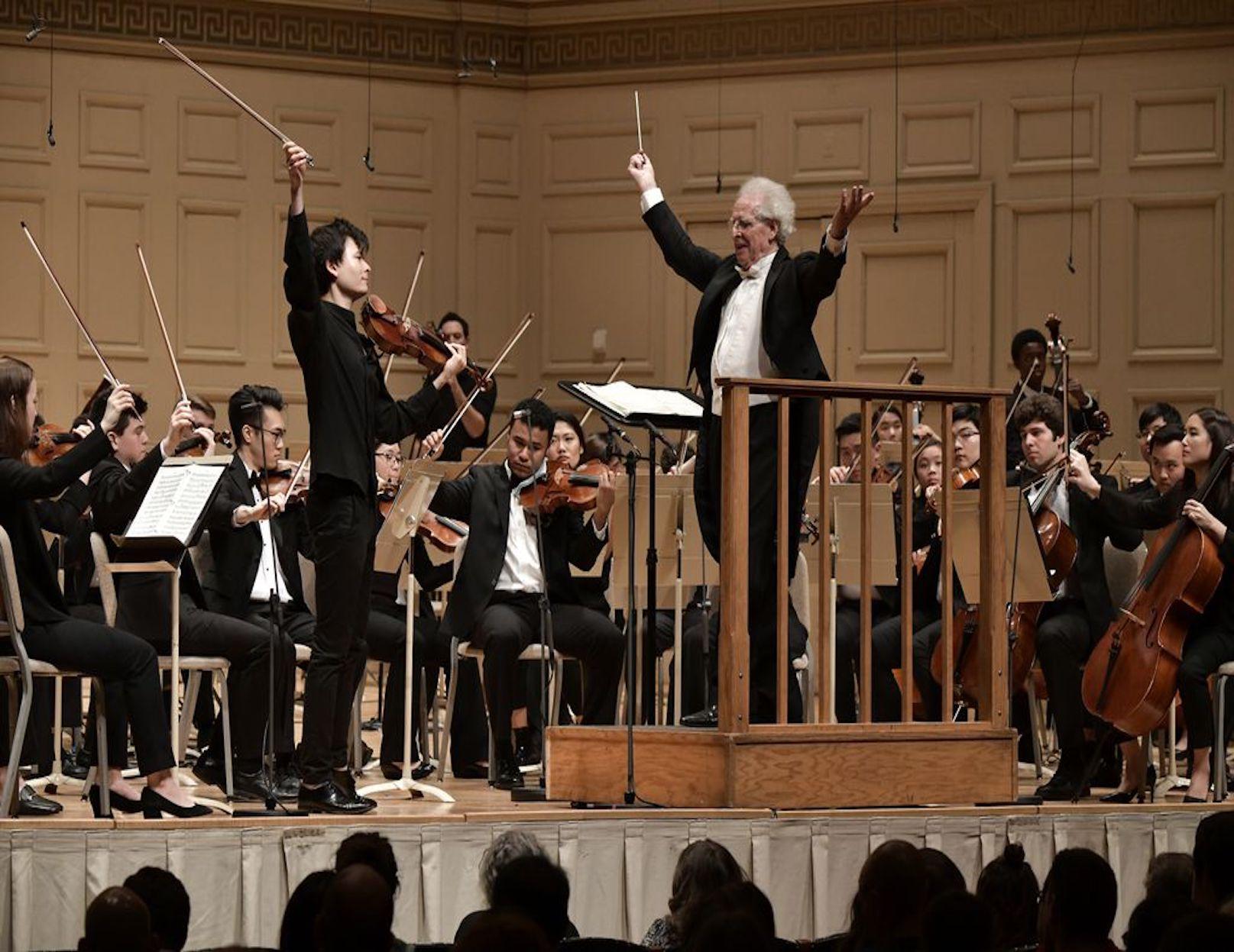 Stefan Jackiw and Benjamin Zander return to the Mendelssohn Concerto, 20 years later