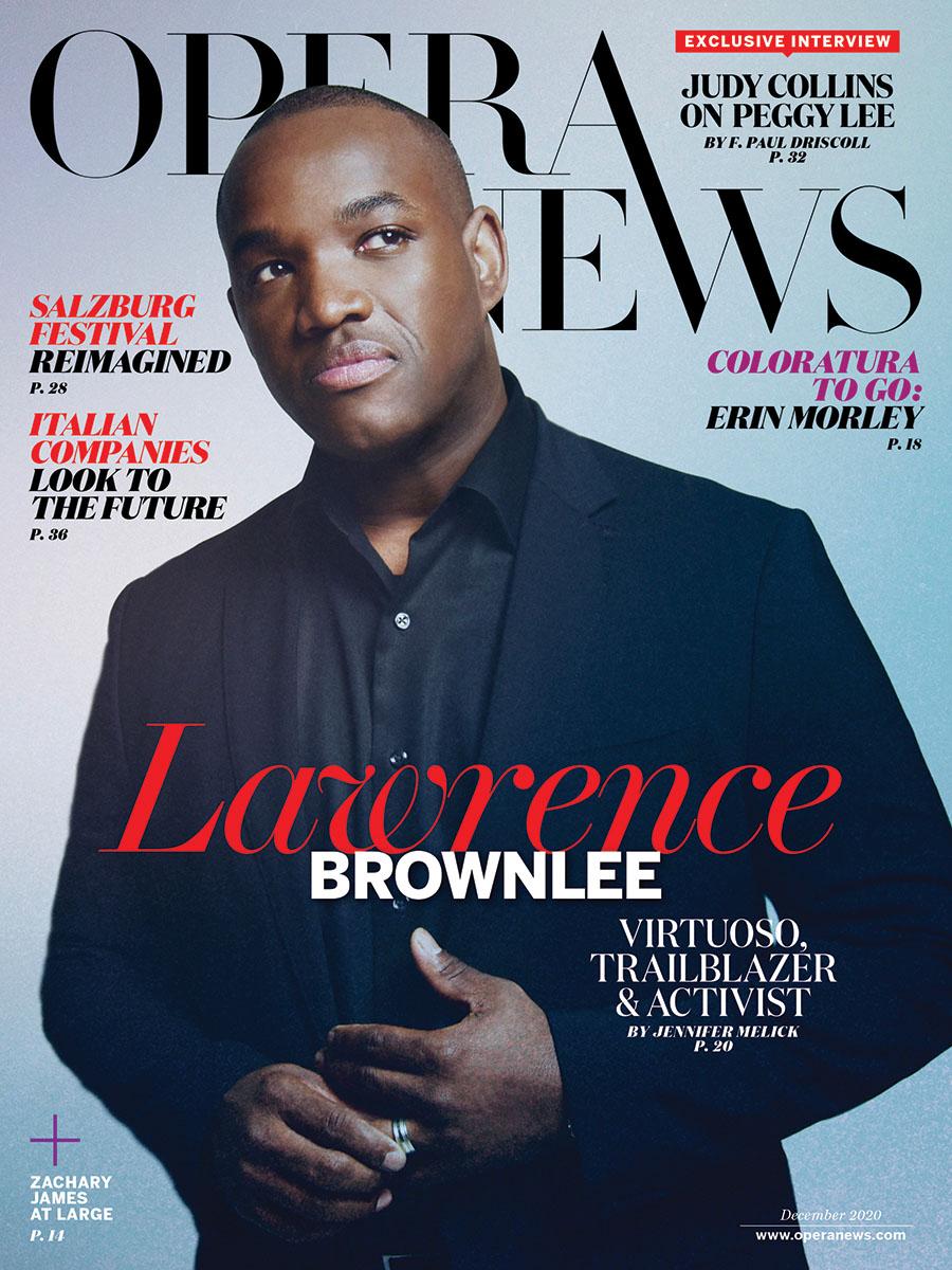 Lawrence Brownlee: Virtuoso, Trailblazer & Activist