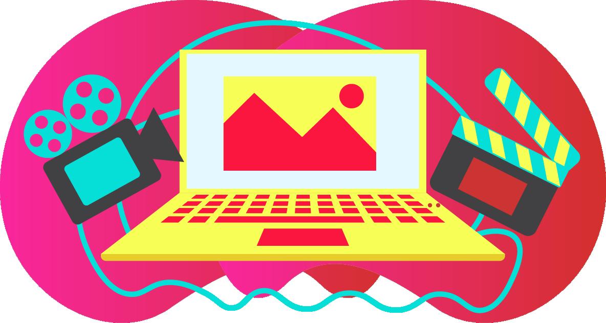 media design illustration