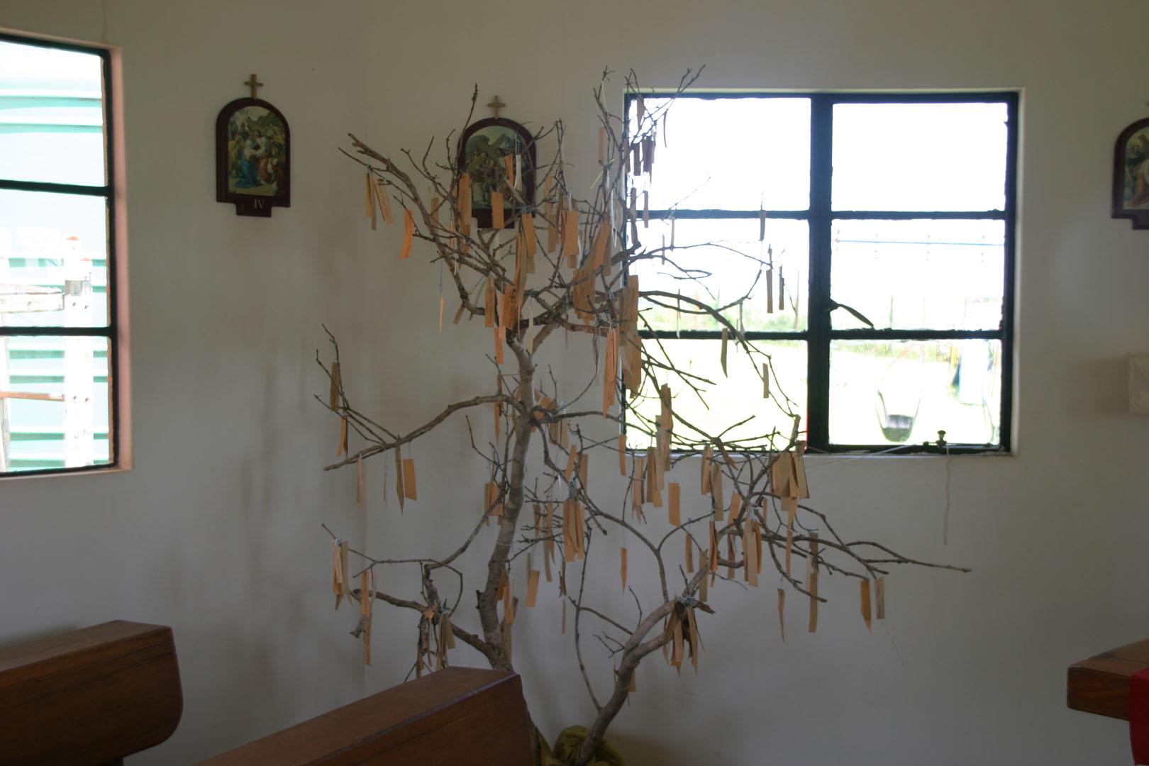 Tree of Hope at eMoyeni Aids Hospice Chappel
