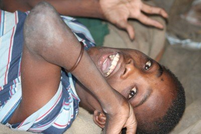 Sipho desperately needed a house. He is multi handicapped and needs help with absolutely everything.