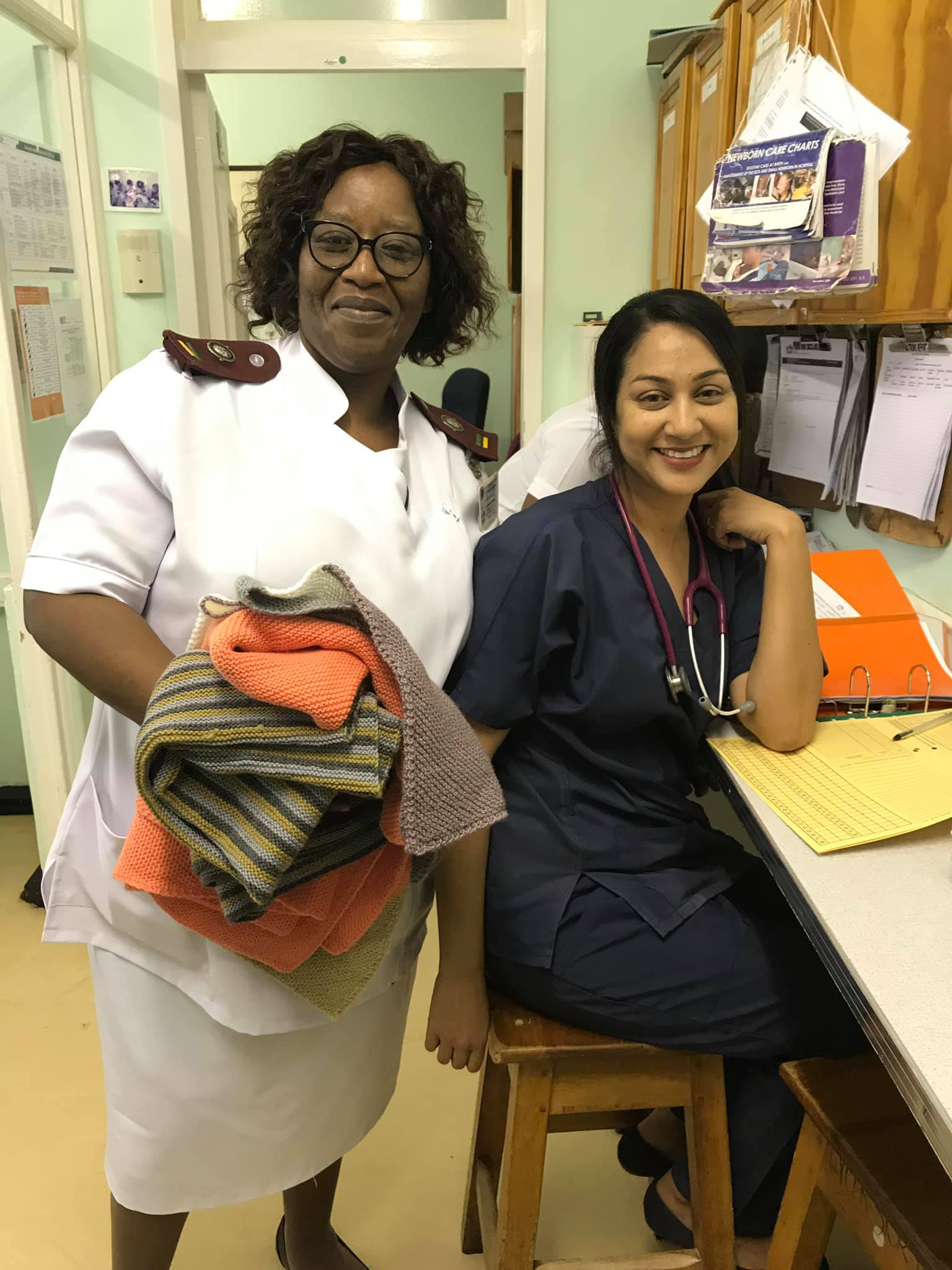 Doctor and manager at the nursery at Eshowe Hospital