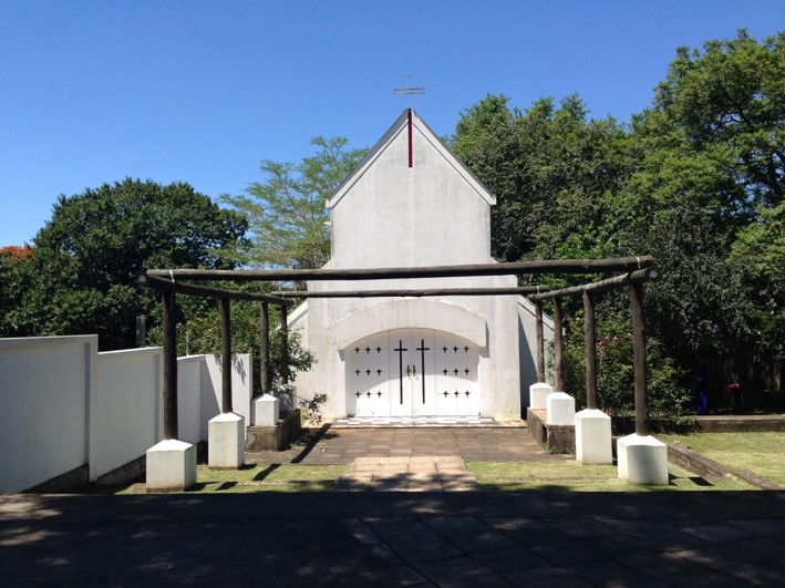 The Norwegian Church at the museum area in Eshowe