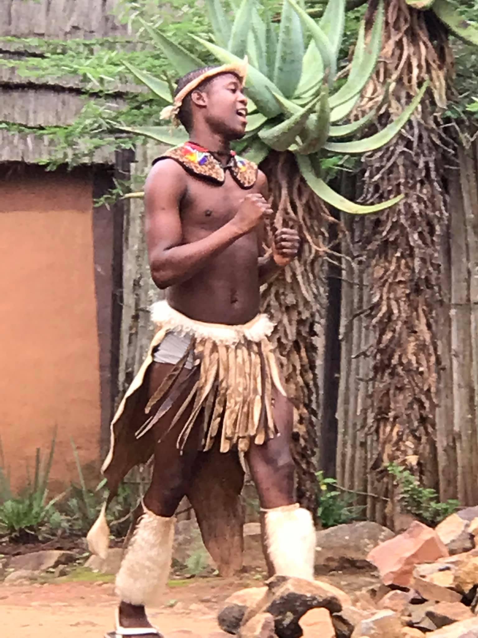 Zulu man
