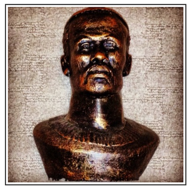 The Medal of Honor came with a bronze sculpture of an historical zulu king, King Shaka