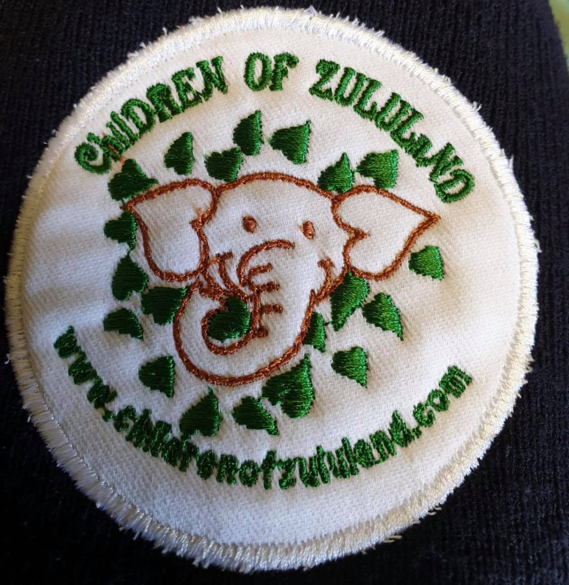 Logo used in South Africa to brand things from Children of Zululand there