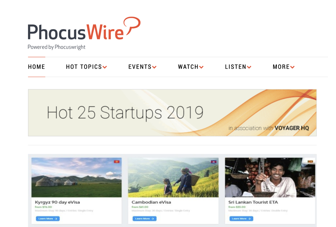 Phocuswire names Sherpa as one of the top 25 start-ups to watch in 2019.