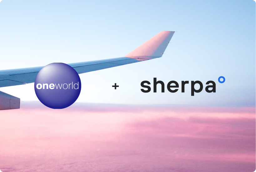 Oneworld enhances customer information portal to further ease travel planning with sherpaº
