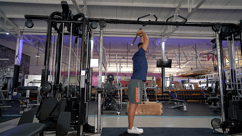 Over Head Triceps Extension