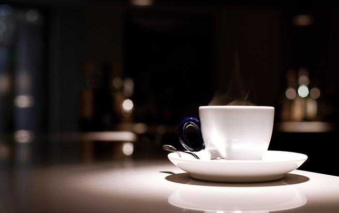 Cofee mug in saucer