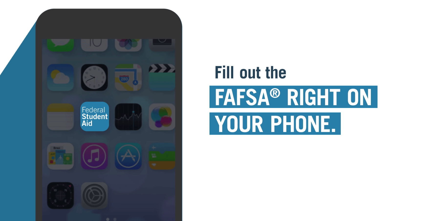 Video introducing the FAFSA mobile app