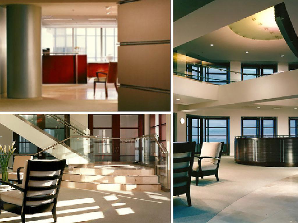 Space: Renaissance Center World Headquarters - Executive Floors Location: Detroit, Michigan Project Area: 30,000 sf