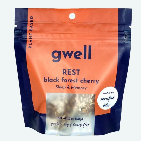 Organic Black Forest Cherry Gwell Bites