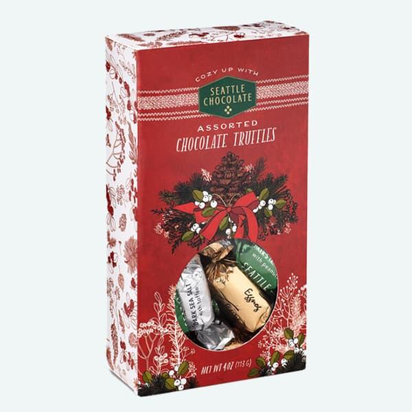 Holiday Chocolate Truffle Box