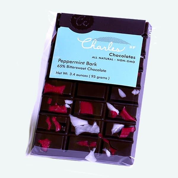 Peppermint Bark Chocolate Bar