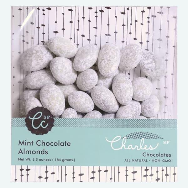 Mint Chocolate Almonds