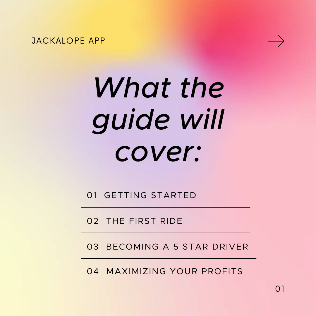 rideshare guide getting started