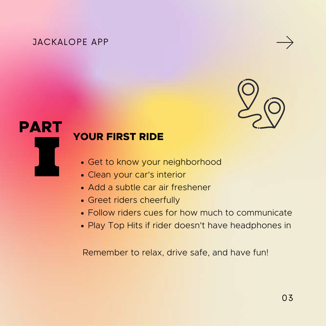 rideshare first ride getting started