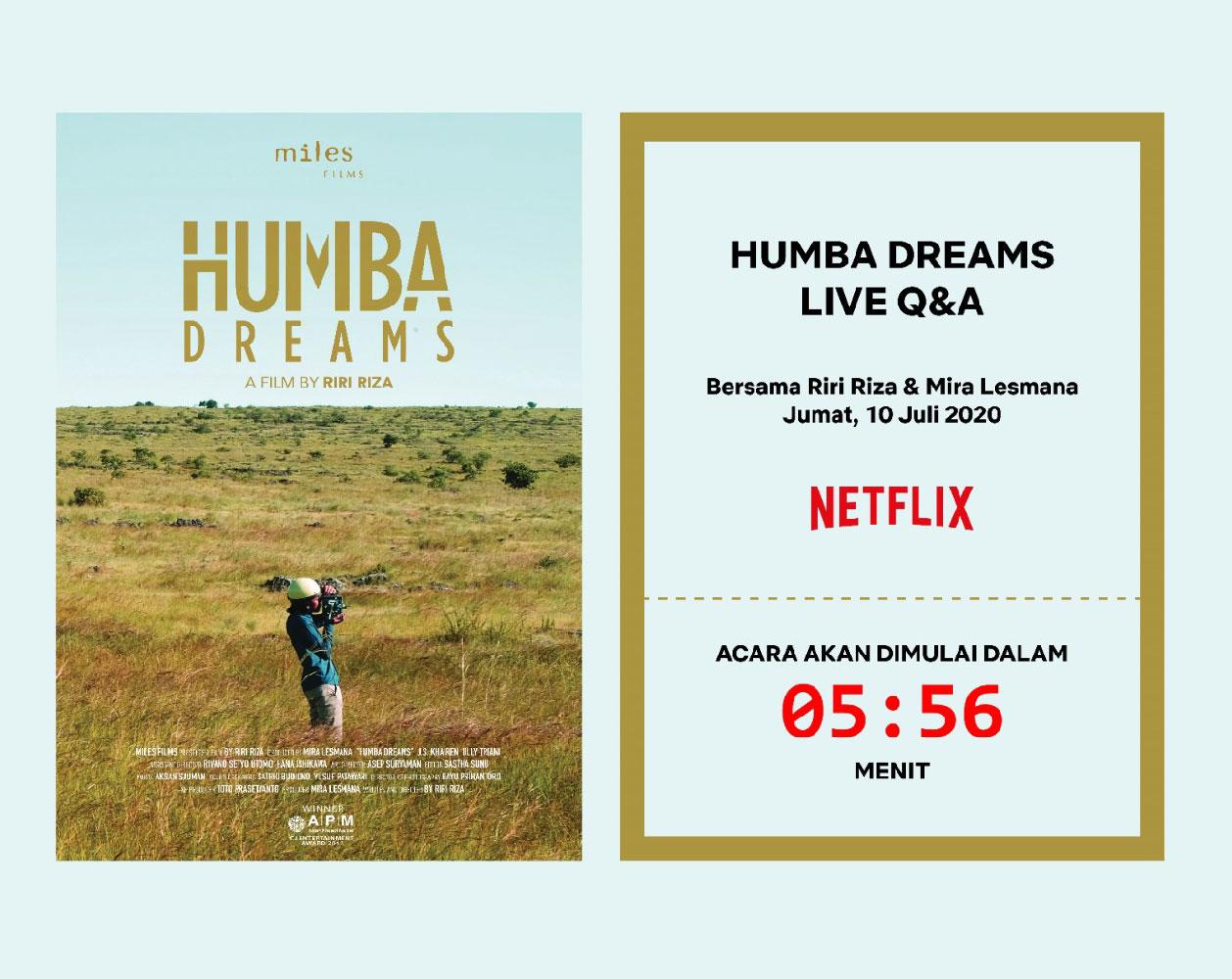 Humba Dreams X Netflix