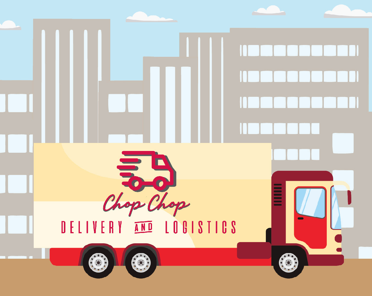 Chop Chop Delivey & Logistics Commercial