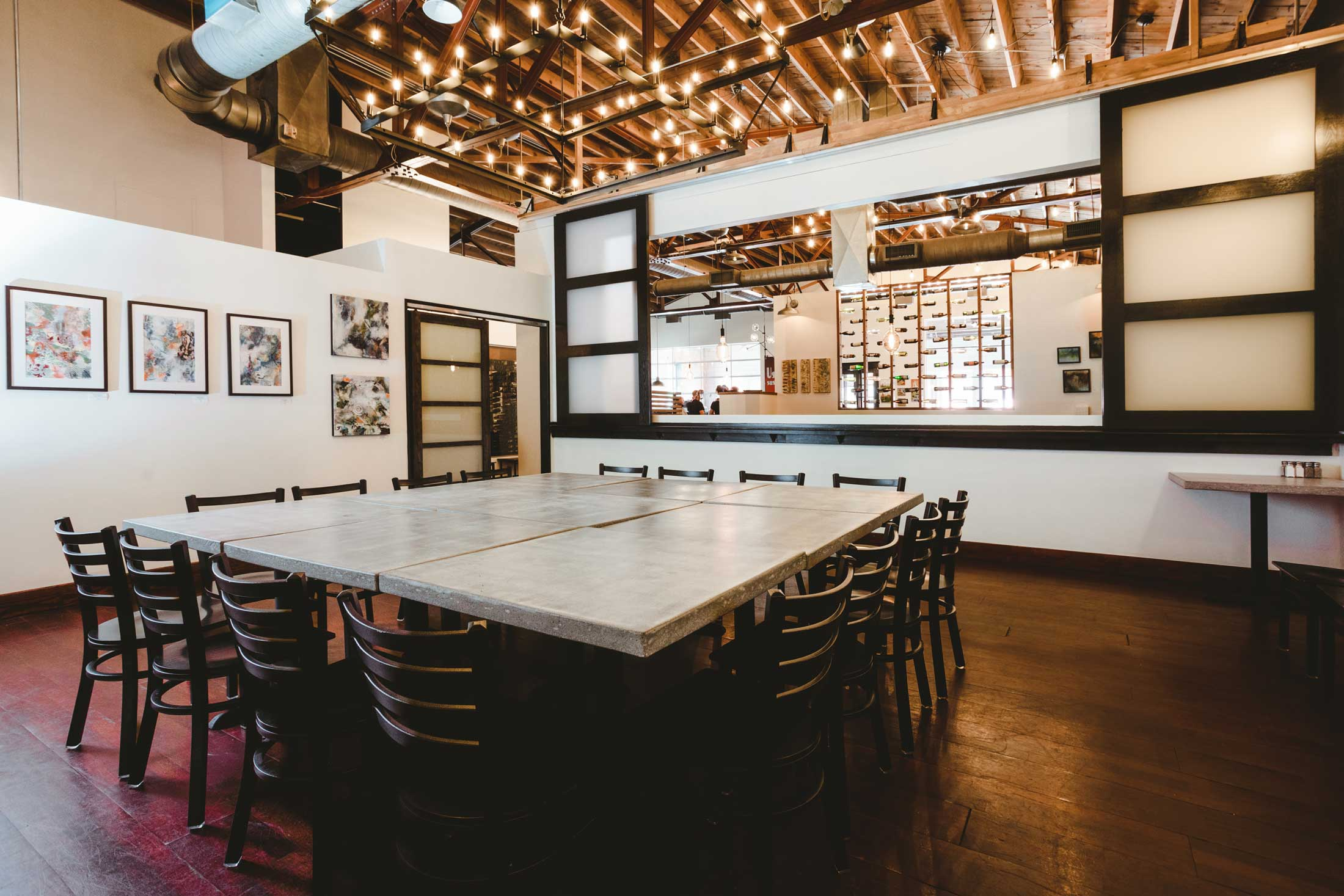 Asheville restaurant event space