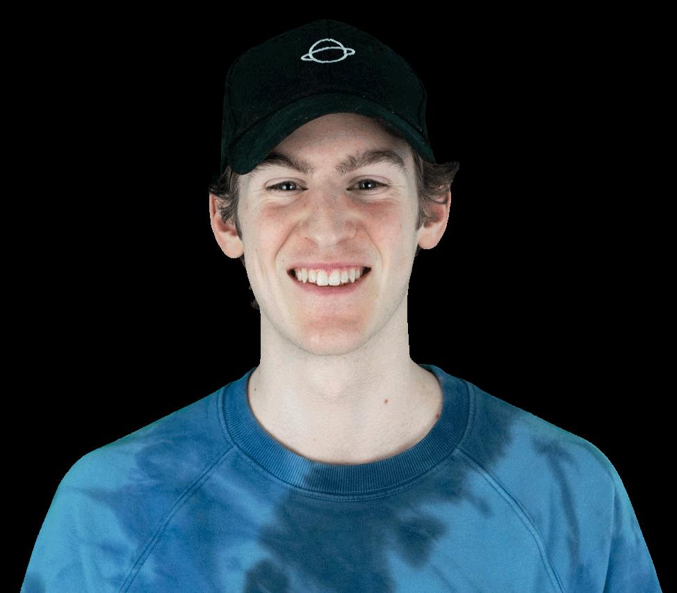 Portrait photo of co-founder Adam