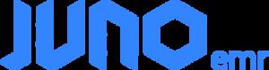 blue Juno emr logo
