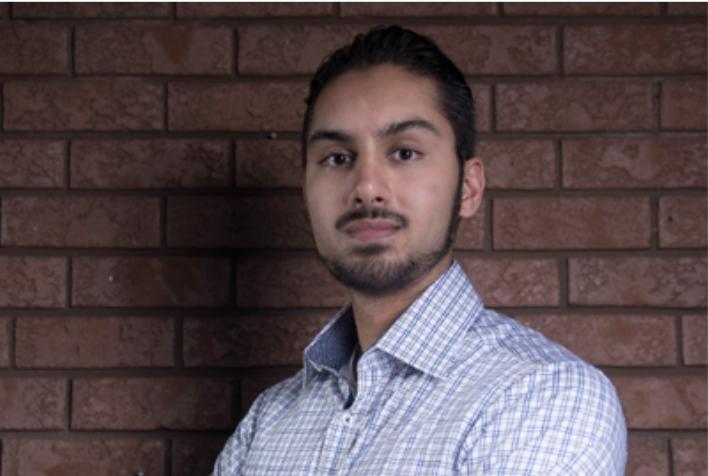 Headshot of Mahammed Oonwala. Automation Engineer Co-op