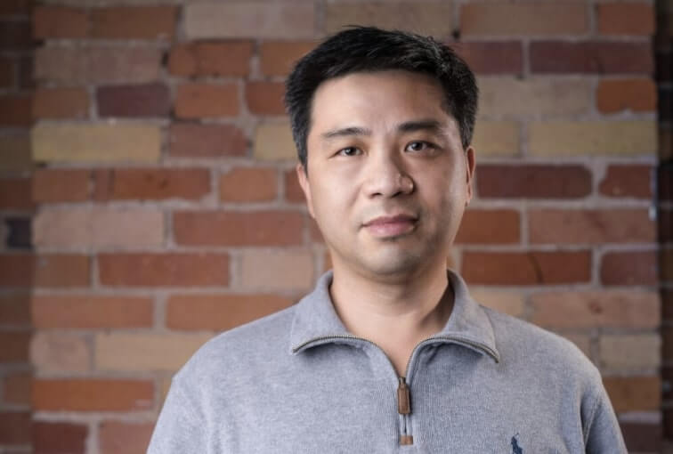 Headshot of Frank Lin. Director of Application and Delivery