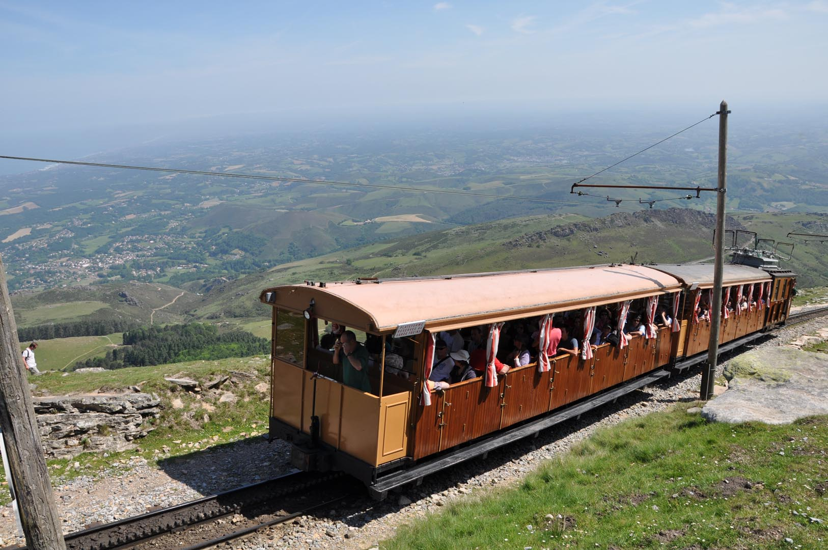 The little train of Rhune