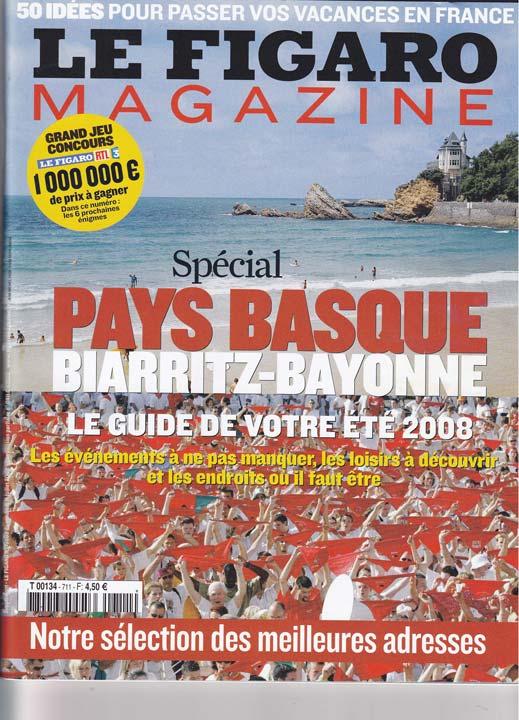 Le Figaro magazine talks about us