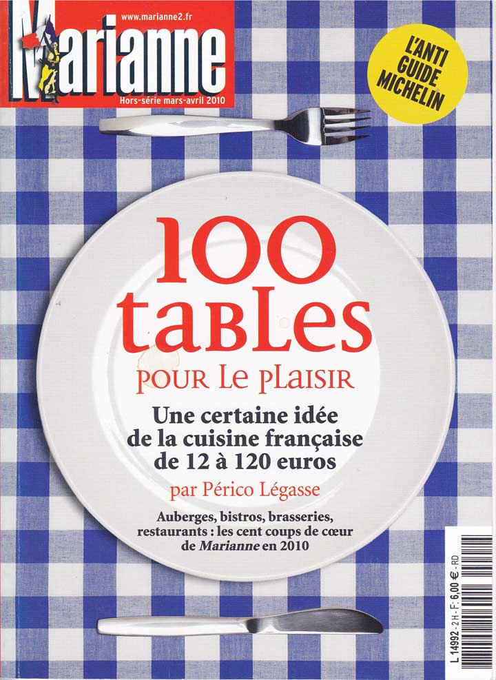 100 tables for Marianne's pleasure