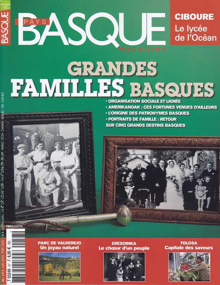 Large Basque Families