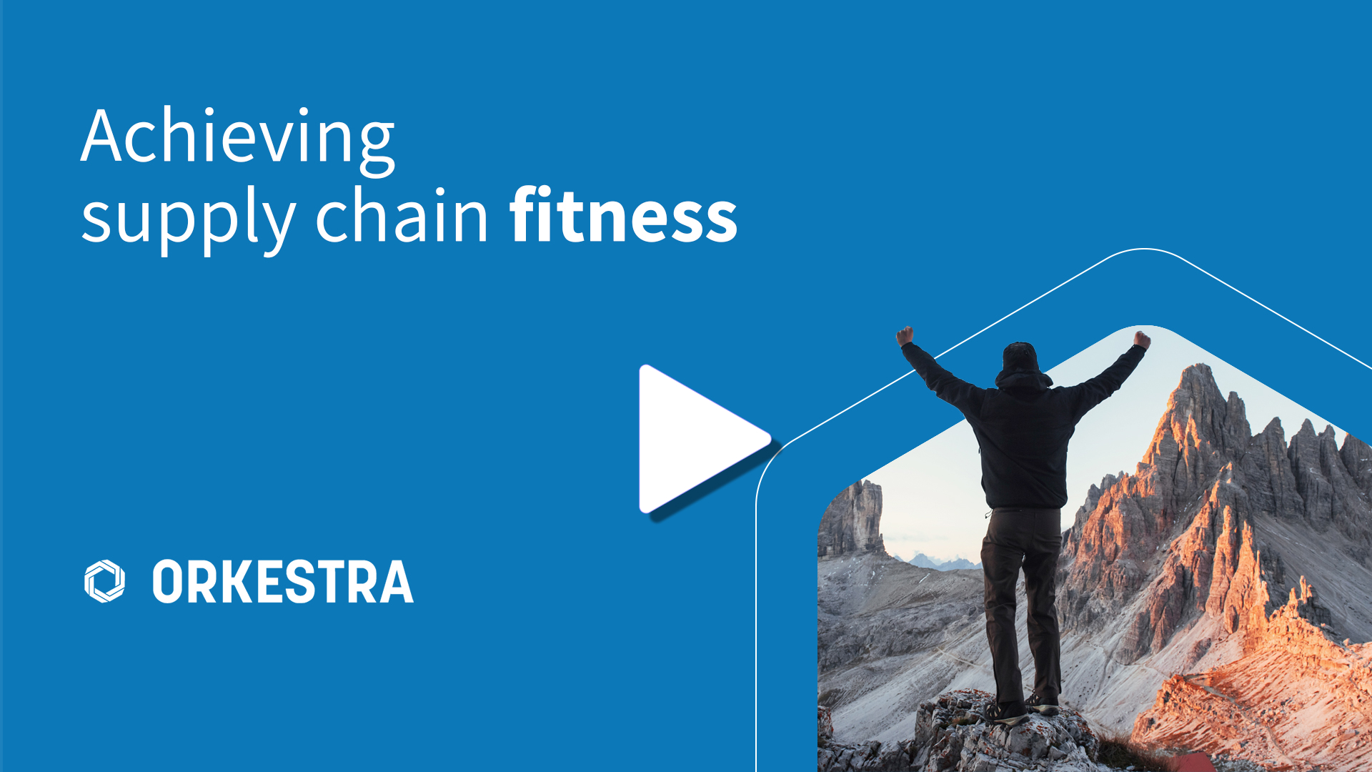 Achieving supply chain fitness