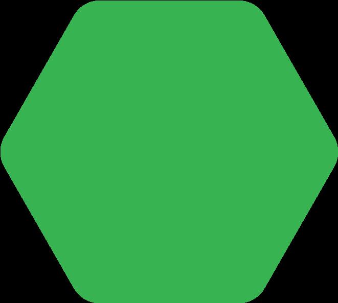 Orkestra's polygon design art.