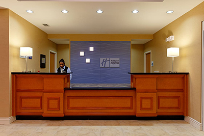 Holiday Inn Express front desk