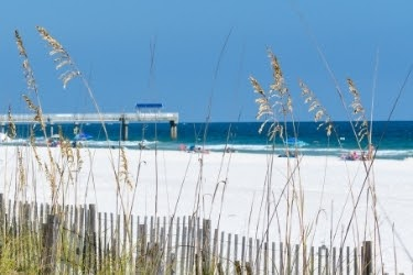 Gulf Coast Beach view