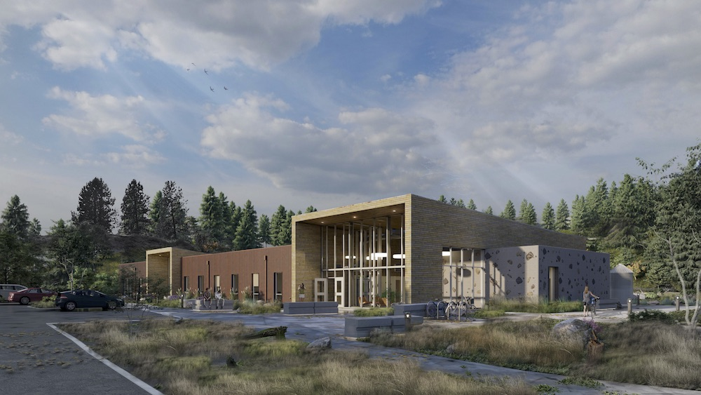 Rendering of our new conservation campus coming Winter of 2020!