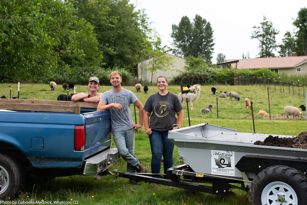 The Whatcom Conservation District is dedicated to supporting local agriculture through its equipment share program and it currently includes a manure spreader and poultry processing equipment