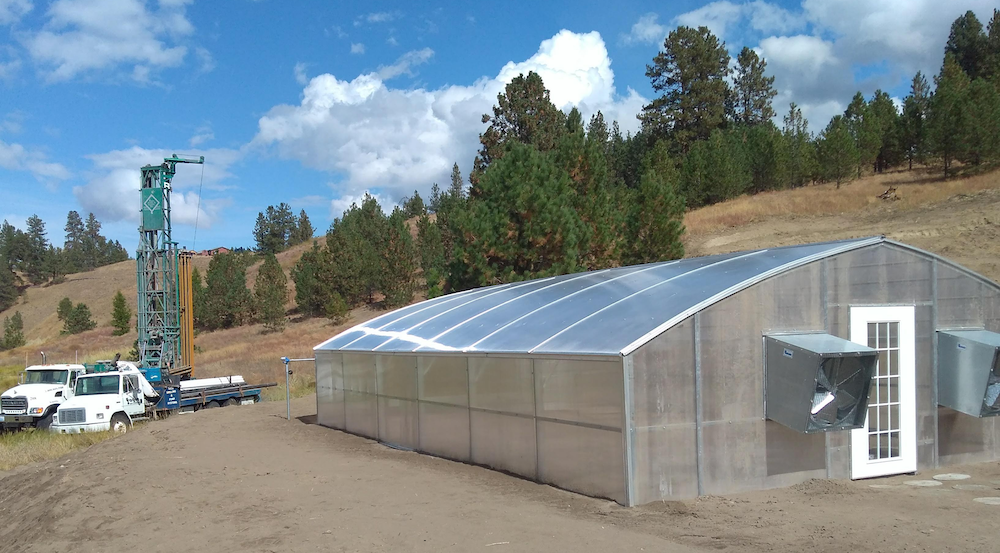 Educational greenhouse on District property for local schools