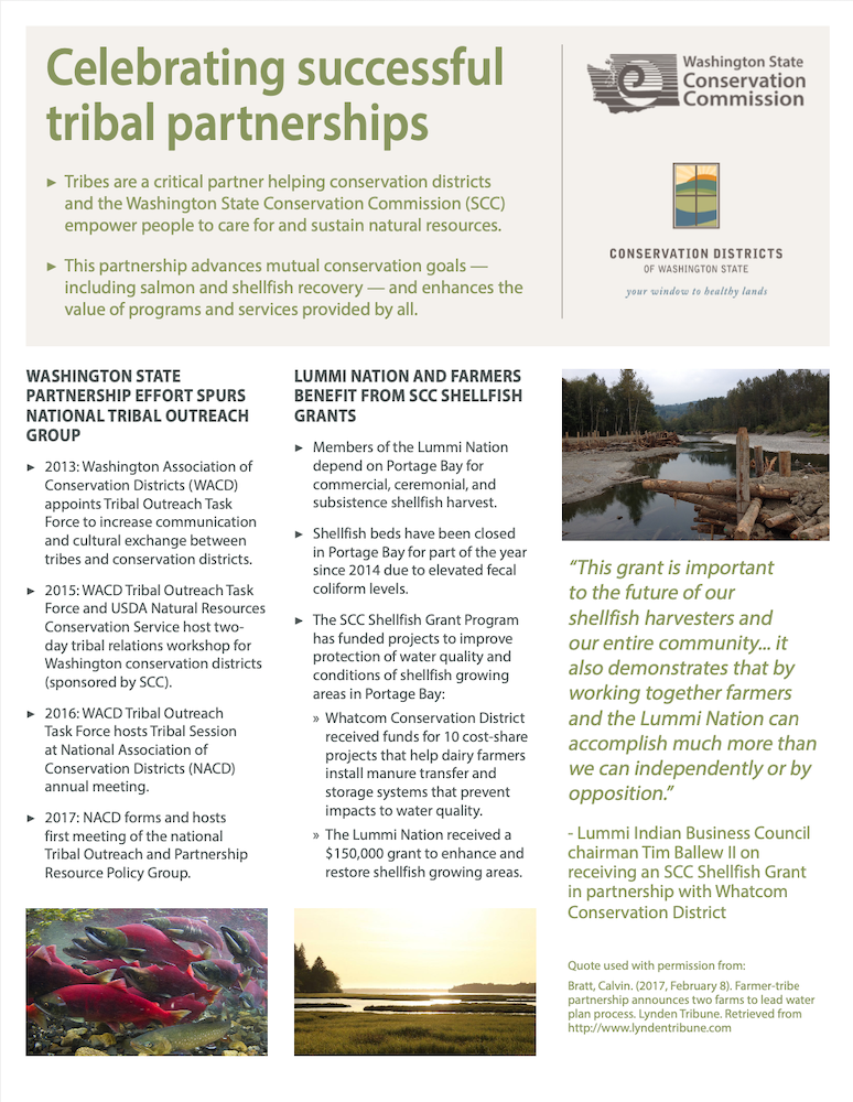Celebrating Successful Tribal Partnerships
