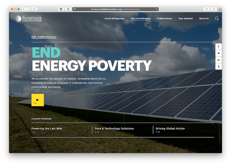 end energy poverty video campaign from rockefeller foundation