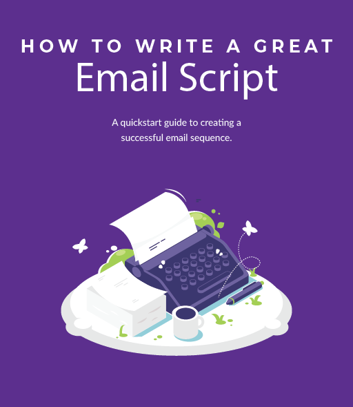 Cover image for PDF ebook titled How to Write a Great Email Script.