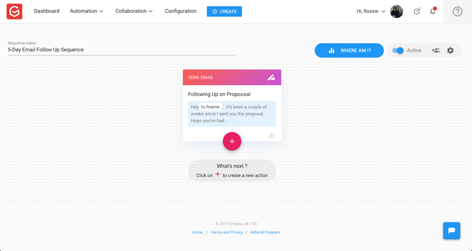 Email Automation: Add more drip emails to the sequence.