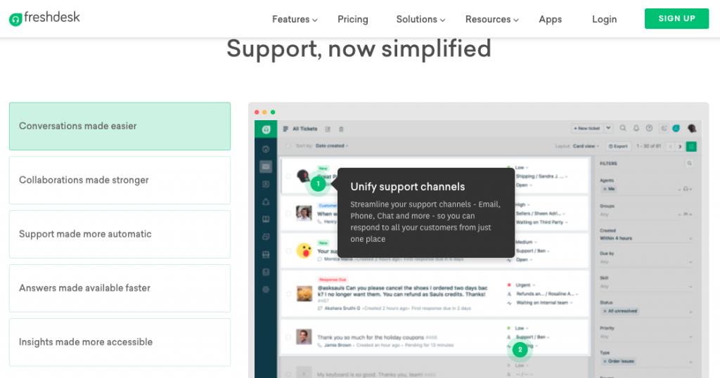 Help Desk Software: Freshdesk