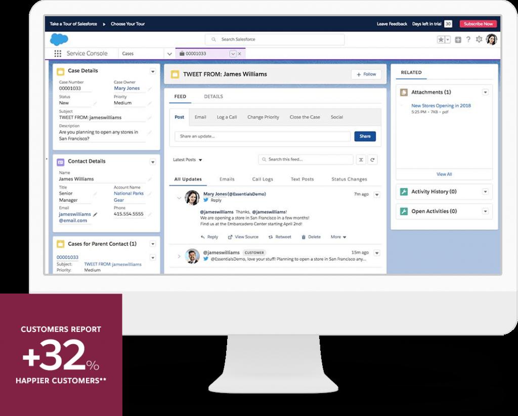 Help Desk Software: Salesforce