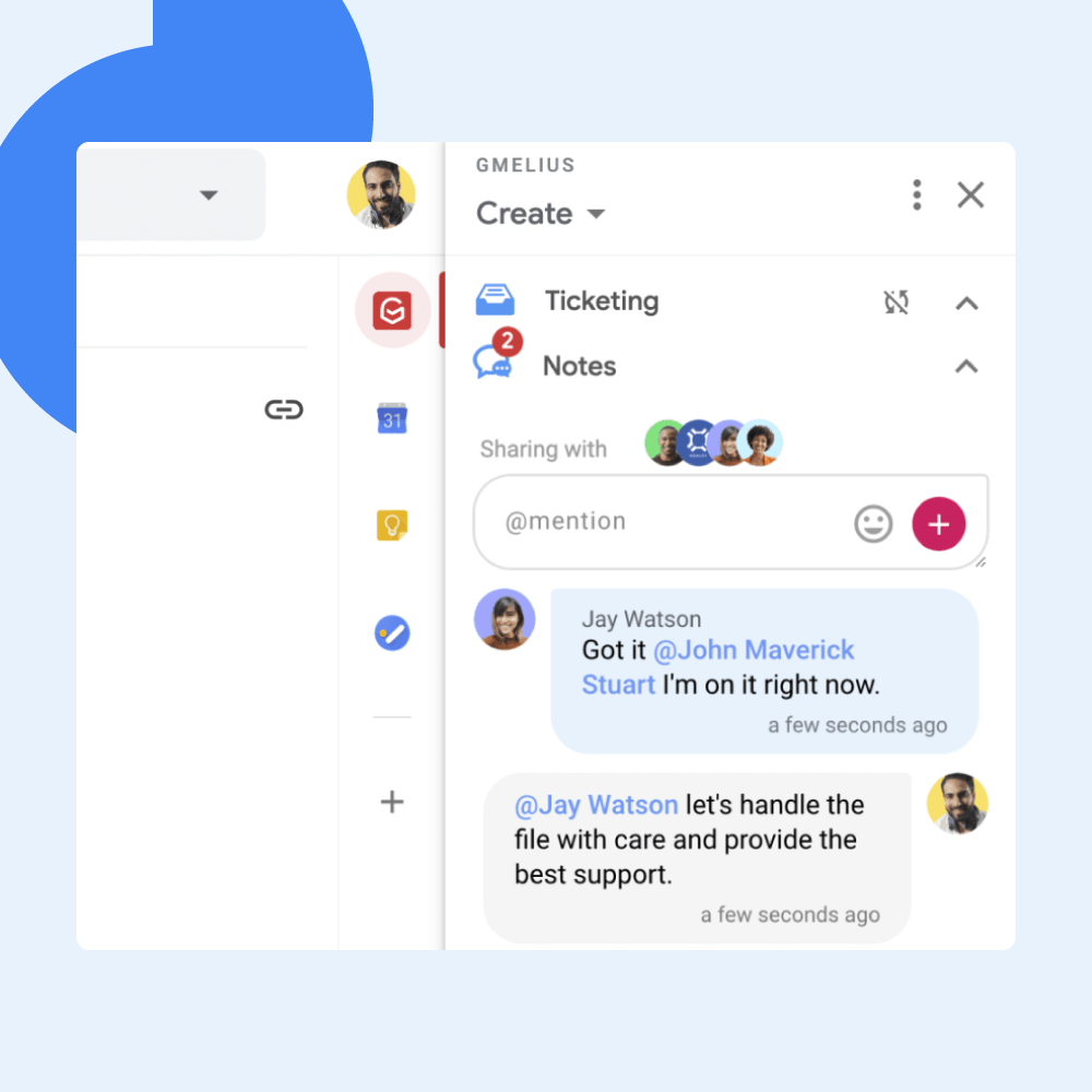 How to Add Notes to Gmail and  Improve Team Communication
