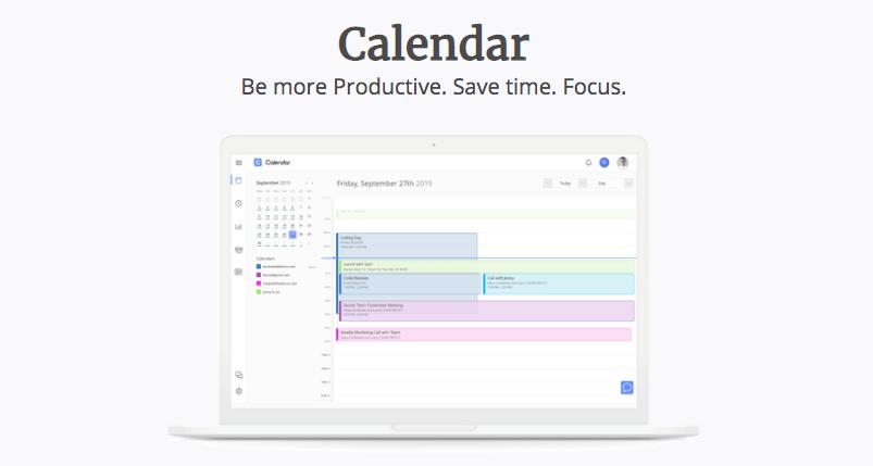 Calendar time management screenshot preview