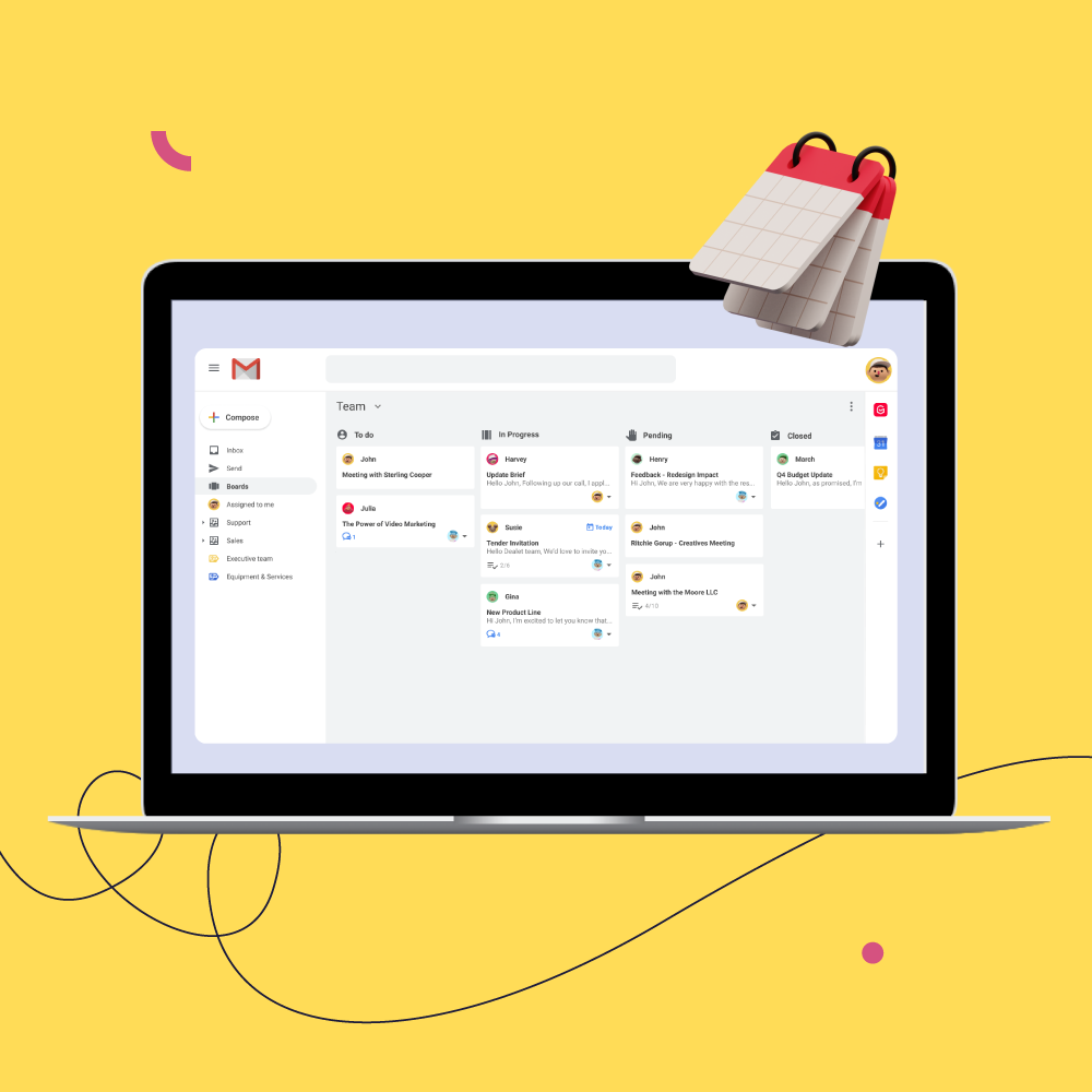 How To Manage Projects From Gmail. [The Power of Gmelius Boards!]