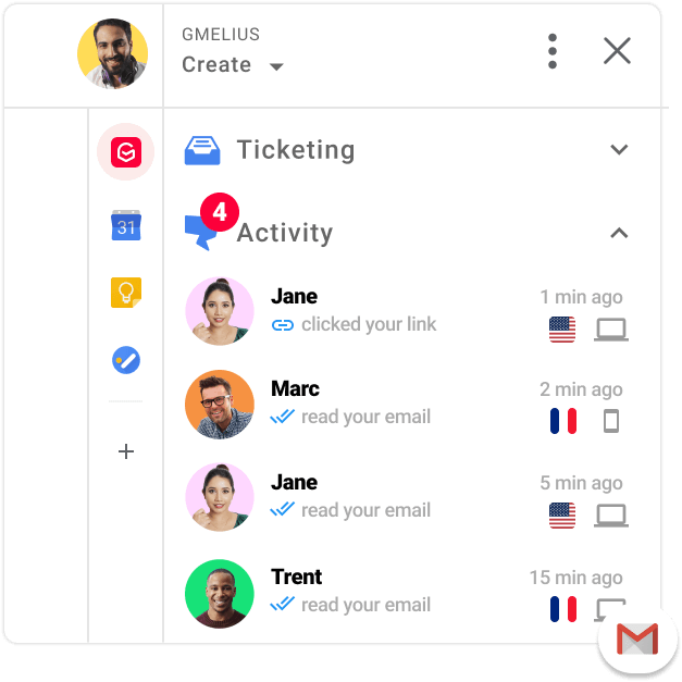 Email Tracking Suite for Gmail